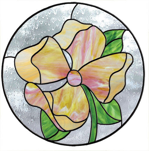 Free Stained Glass Patterns Dogwood Circle By Mari Stein