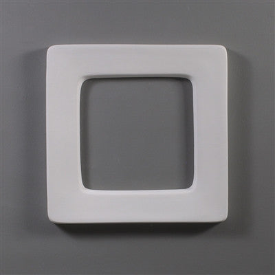 6 Inch Square Drop Ring Mold for Plate or Bowl Kiln Work