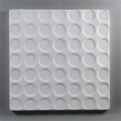 9 Inch Square Spot Texture Plate Mold for Glass Slumping