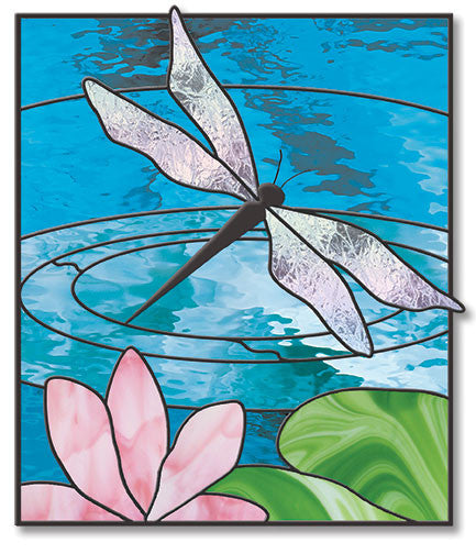 free stained glass patterns Free Stained Glass Patterns   Garden Pond Dragonfly Pattern by  free stained glass patterns