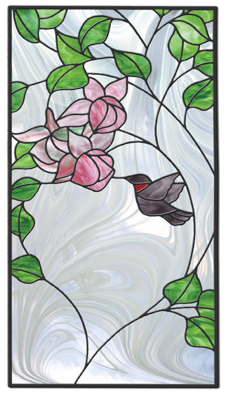 Free Stained Glass Patterns Hummingbird Panel By Florence Niven