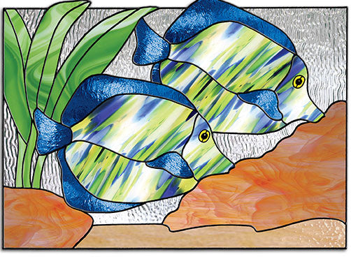Free Stained Glass Patterns Tropical Fish By Lisa Vogt