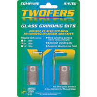 "Aanraku 3/4"" TWOFERS 2 bit set - 170 medium grit"