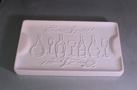 Bon Appetit Tray Mold for Glass Slumping/fusing Retails for $49
