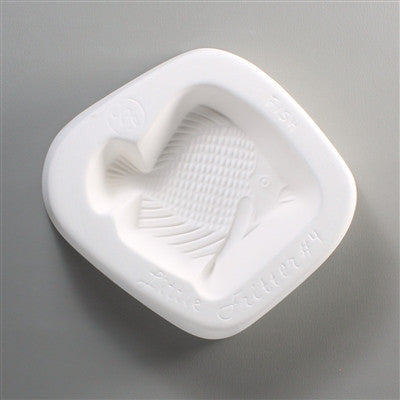 Fish Fritter Ceramic Mold For Fusing Glass The Avenue