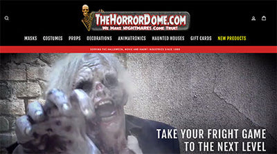 Announcing the new TheHorrorDome.com!