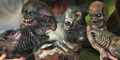HD Horror Puppets that will be the talk of any Haunt.
