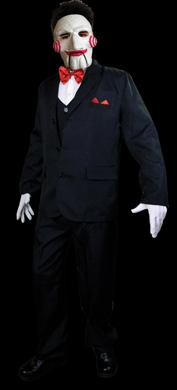Masque Homme Jigsaw Costume Licence Officielle Saw Puppet Costume Halloween