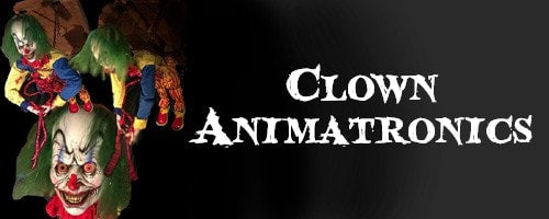 Clown Halloween Animatronics