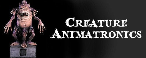 Creature Halloween Animatronics