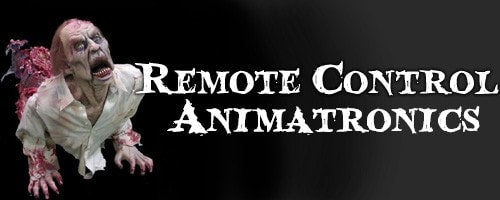 Remote Controlled Halloween Animatronics