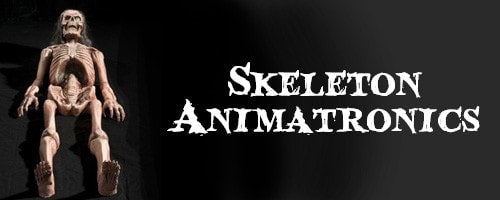 Skeleton Halloween Animatronics