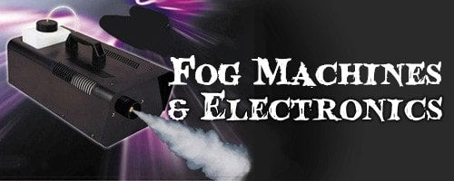 Fog Machines & Electronics Halloween Decorations