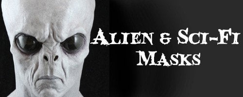 Alien / Sci-Fi Halloween Masks
