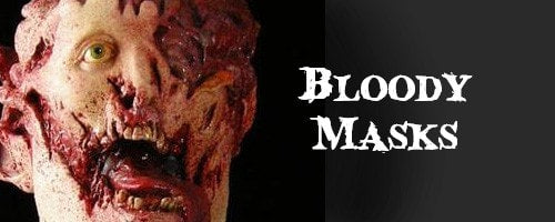 bloody halloween masks - Bloody Halloween Masks