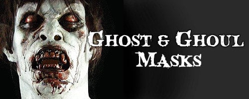 Ghosts & Ghouls Halloween Masks