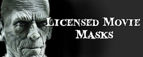 Licensed Movie Halloween Masks