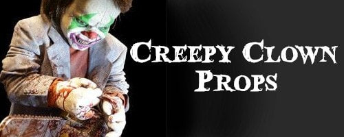 Creepy Clown Halloween Props