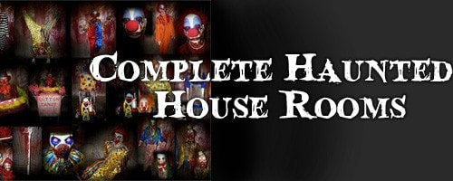 Complete Haunted House Prop Rooms