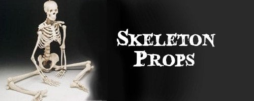 Skeleton Halloween Props