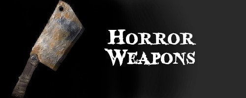 Horror Weapon Halloween Props