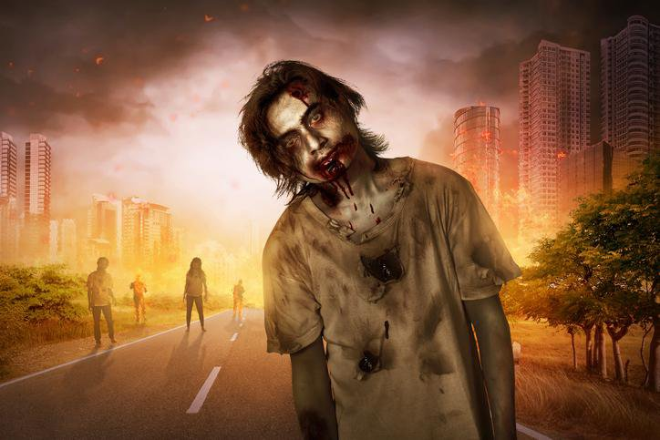 Zombies in City