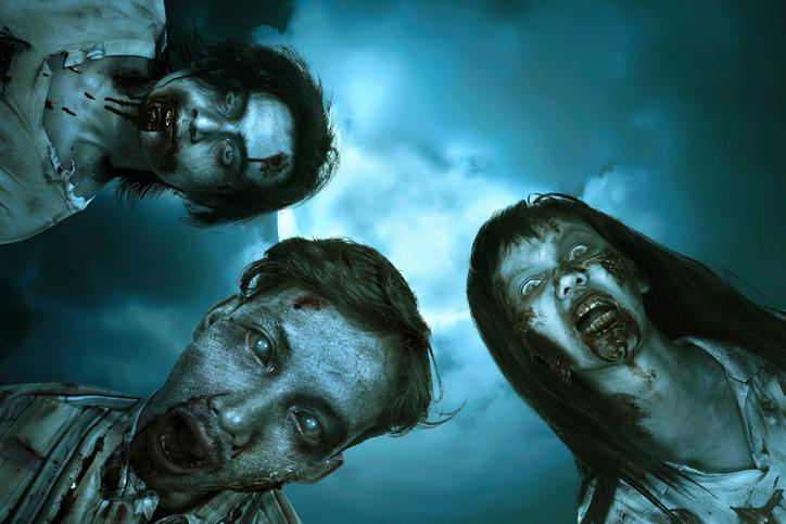 Zombies Staring