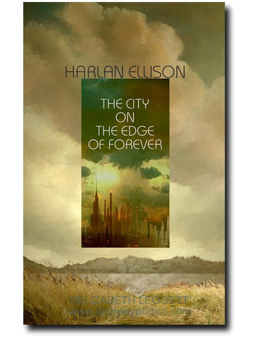 City On The Edge of Forever - Portico Arts - Art Print by Elizabeth Leggett