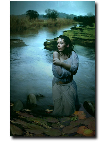 The Drowning - Portico Arts - Art Print by Elizabeth Legget