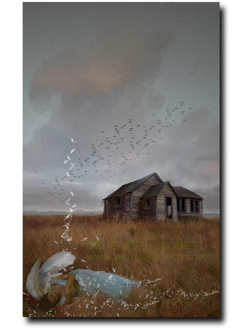Homestead - Portico Arts - Art Print by Elizabeth Legget