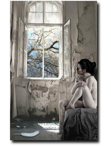 In The Light - Portico Arts - Art Print by Elizabeth Legget
