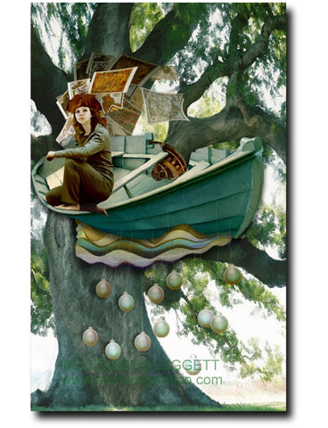 Sailing Song - Portico Arts - Art Print by Elizabeth Leggett