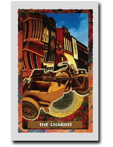 07 The Chariot - Portico Arts - Art Print by Elizabeth Legget