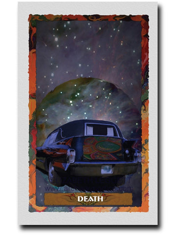 13 Death - Portico Arts - Art Print by Elizabeth Legget