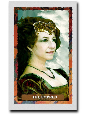 03 The Empress - Portico Arts - Art Print by Elizabeth Legget
