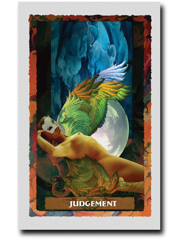 20 Judgement - Portico Arts - Art Print by Elizabeth Legget
