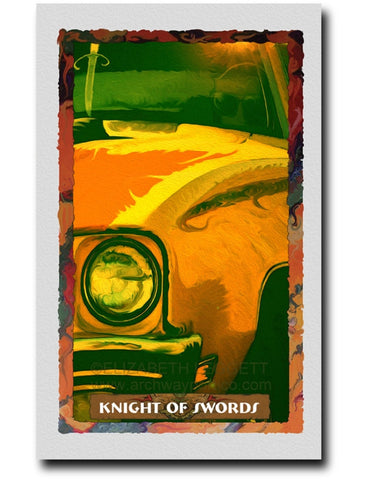 Knight Of Swords - Portico Arts - Art Print by Elizabeth Legget