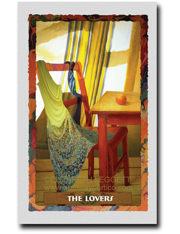 06 The Lovers - Portico Arts - Art Print by Elizabeth Legget