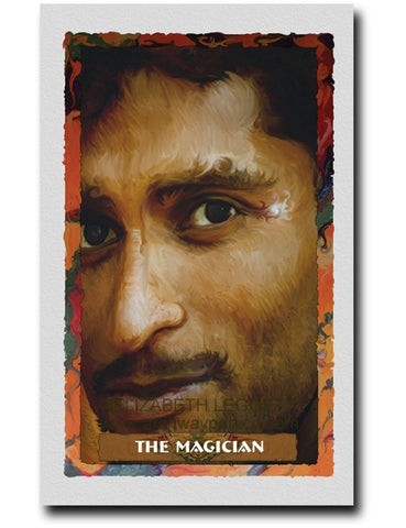 01 The Magician - Portico Arts - Art Print by Elizabeth Legget