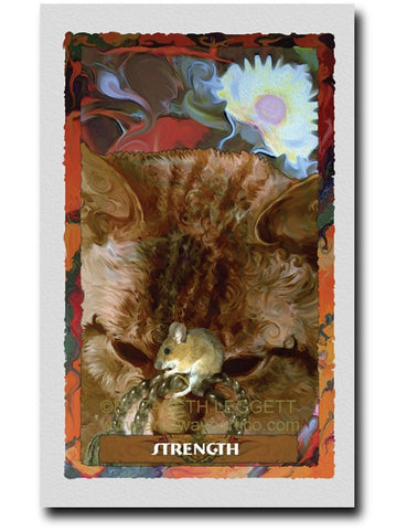 08 Strength - Portico Arts - Art Print by Elizabeth Legget
