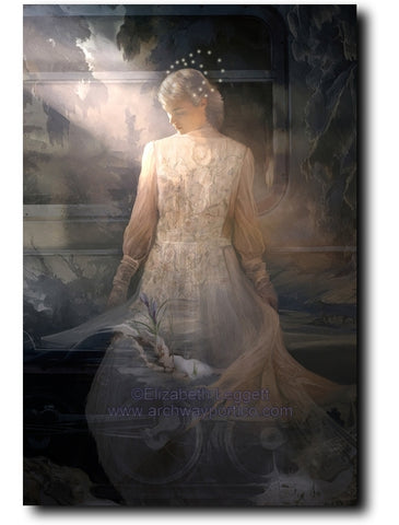 Spring Claims Her Dominion - Portico Arts - Art Print by Elizabeth Legget