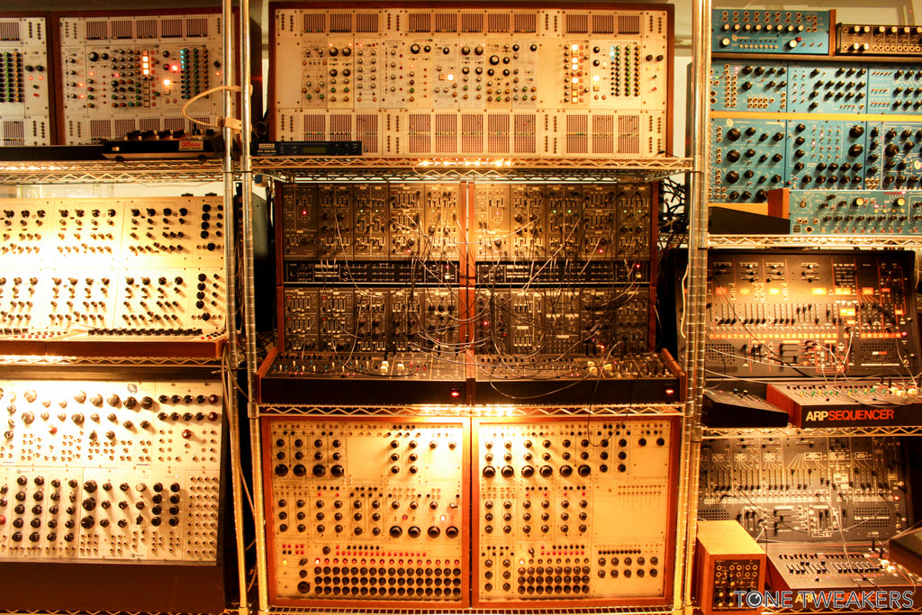 NYC Vintage Synth Recording Studio - The Synth Sanctuary