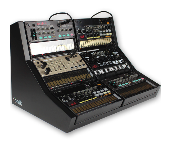 Fonik Innovations 6 Volca Stand Black
