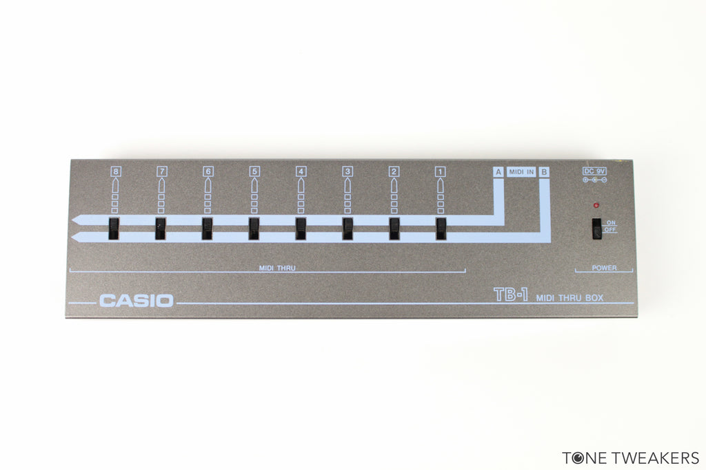 Casio TB-1 MIDI Thru Box w/ Manual