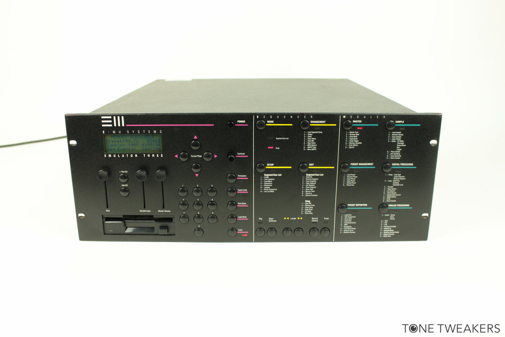 Emu EIII Rack Emulator Three