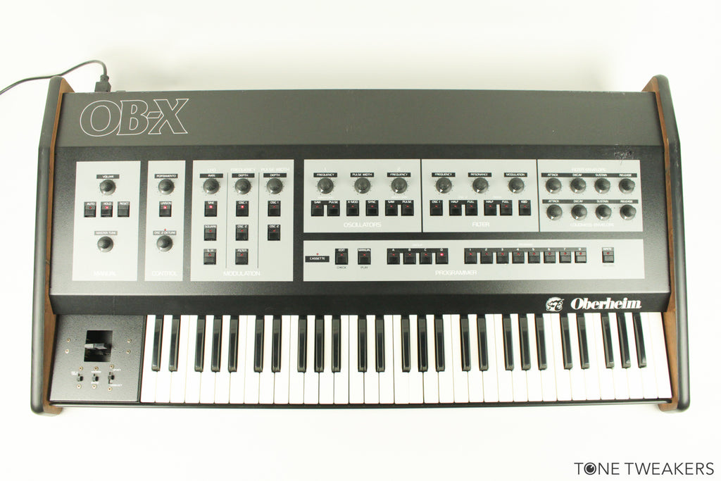 Oberheim OB-X w/ MIDI & Upgraded