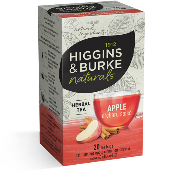 Higgins & Burke Apple Orchard Spice Herbal Tea (120 Tea Bags)