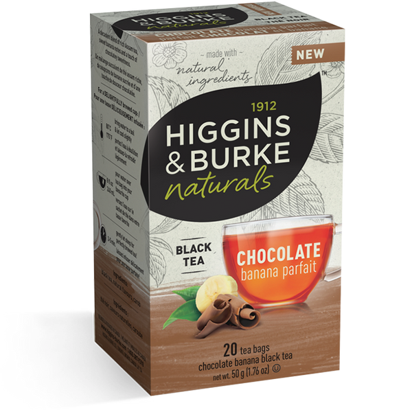 Higgins & Burke Chocolate Banana Parfait Tea (120 Tea Bags)