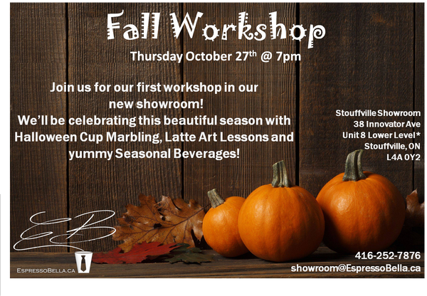 Fall Workshop Admission