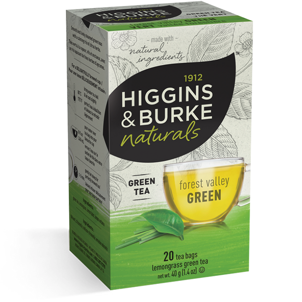Higgins & Burke Forest Valley Green Tea (120 Tea Bags)